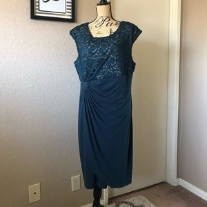 Connected Lace Dress